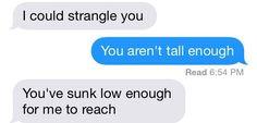 when u piss off ur short friend
