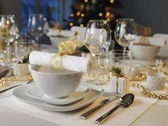 Cómo vestir la mesa con los platos más elegantes.