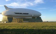 Airlander 10. Le plus gros aéronef du monde. 2016