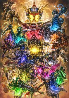 Grateful and the ghosts Kamen Rider Kabuto, Kamen Rider Ex Aid, Kamen Rider Decade, Kamen Rider Series, Retro Logos, Fantasy Character Design, Marvel Vs, Power Rangers, Fantasy Characters