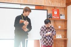 「ばっぱ石けん」佐藤さんと菅沼さん。