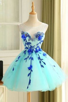 2018 Ball Gown Tulle Homecoming Dress Beautiful A Line Flower Short Prom Dress Party Dress Homecoming Dress Prom Dress Beautiful Prom Dresses Cheap Prom Dresses Ball Gown Prom Dresses Short Homecoming Dresses Light Blue Homecoming Dresses, Dresses Short, A Line Prom Dresses, Beautiful Prom Dresses, Dresses For Teens, Ball Dresses, Ball Gowns, Evening Dresses, Elegant Dresses