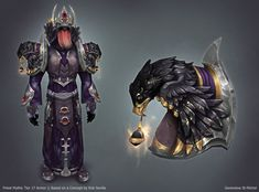 ArtStation - WOD - Priest Tier 17 Mythic, Genevieve St-Michel