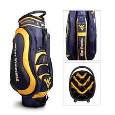 West Virginia Mountaineers NCAA Cart Bag - 14 way Medalist
