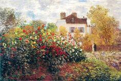 Claude Monet, Jardim do artista, pôster da impressão artística Pôsters por Claude Monet na AllPosters.com.br