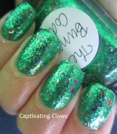 This is two coats of The Bunny Code over Bettina Mojito
