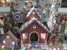 Candy House in a Mall
