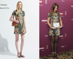 a1a370becb7e Louis Vuitton · Adèle Exarchopoulos In Valentino Resort -  Cesars 2014′  Nominee Luncheon. Re-tweet
