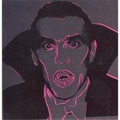 ANDY WARHOL - DRACULA FROM MYTHS SUITE, FS II.264 - POP ART GALERIE FLUEGEL RONCAK NUREMBERG