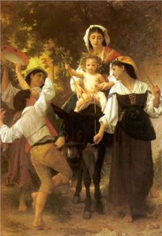 Return from the Harvest - Bougereau