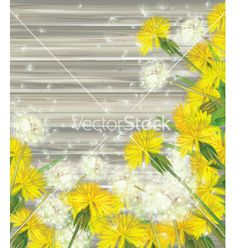 Floral background vector - by rvika on VectorStock®