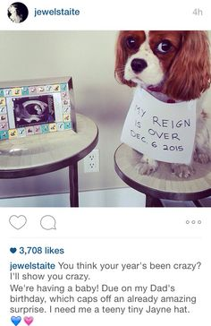 The newest Browncoat is due this December! Jewel Staite's adorable pregnancy announcement on Instagram!