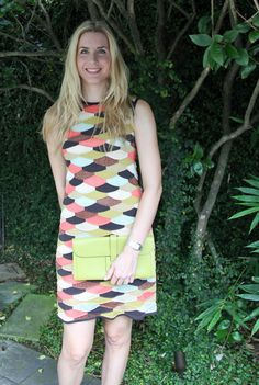 M Missoni dress and Hermes Jige clutch in Vert Anis  www.SpilledMilkStyle.com  A blog for stylish moms despite all the spilled milk!