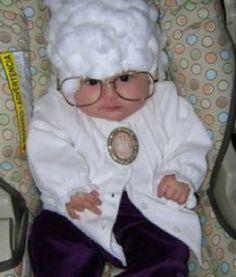 Baby as Sophia Petrillo! #goldengirls