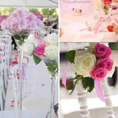 bouquet de rose fushia