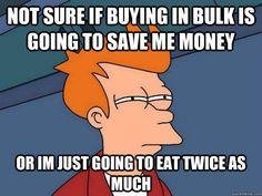 Bulk buying healthy food choices