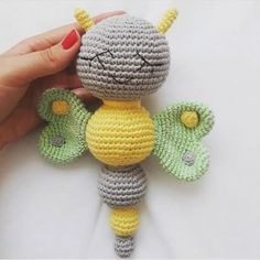 Crochet Amigurumi Free Patterns, Baby Knitting Patterns, Free Crochet, Crochet Hooks, Crochet Earrings, Butterfly, Color, Followers, Author