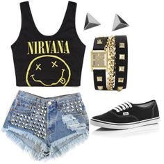 """Luke Hemmings Girl Inspired Outfit"" by cinthyaluna on Polyvore"