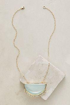 Glacier Pendant Necklace #anthropologie