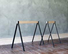 frama : wood & metal trestles