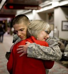 CARING INSIGHTS - PARENTS OF MILITARY PERSONNEL: Top things not to say to an Army mom whose son is deployed, Top things you should say. www.operationwearehere.com