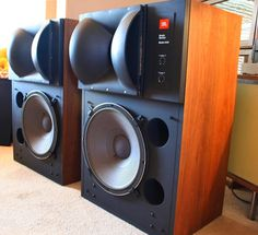 Awesome sounding JBL 4430 Studio Monitors.