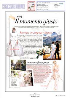 Sposabella article. See it on http://www.vincenzodascanio.it/wp/wp-content/uploads/2013/01/VD_Sposabella.pdf
