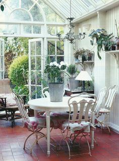 Like this conservatory furniture