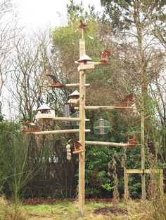 Building A Bird Feeding Station Unique Built By Students