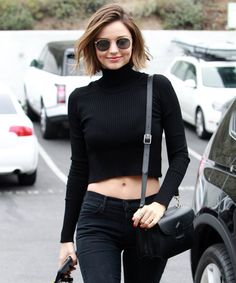 Miranda Kerr Shows Off Her Spring Street Style in Malibu from InStyle.com