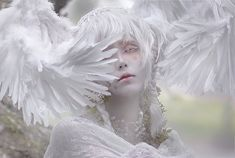 もず on in 2020 Angel Aesthetic, Aesthetic People, White Aesthetic, Art Reference Poses, Photo Reference, Modelo Albino, Mode Grunge, Albinism, Fantasy Photography