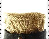 Boot socks, Knit Boot Cuffs, Knit boot toppers, Hand Knit Leg warmers, Stylish boot cuffs