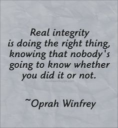 "INTEGRITY: a quality this narcissist does NOT have, for she is still continuing to pretend the life she intentionally walked away, and mocked later (planning a girls night out to watch ""magic mike"" in ""slo mo"" four days after the drunken/pathetic wedding)."