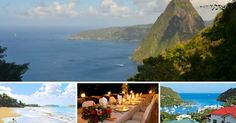 When it comes to a honeymoon or any travel, the destination is typically determined by the type of honeymooner or traveler or by a particular and specific experience they are wishing to have. Honeymoon Planning, Honeymoon Destinations, Amazing Destinations, St Lucia Honeymoon, St. Lucia, Vacation Resorts, Places To Travel, Caribbean, Saint Lucia