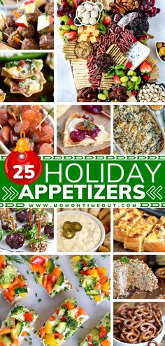 Now you can take the stress out of holiday entertaining! Check out this assortment of fun and festive New Year party appetizers that are guaranteed crowd-pleasers. With more than 25 easy recipes to choose from, this year is going to be the best it has ever been! Best Party Appetizers, Quick And Easy Appetizers, Easy Party Food, Holiday Appetizers, Easy Appetizer Recipes, Best Dinner Recipes, Yummy Appetizers, Quick Easy Meals, Yummy Recipes