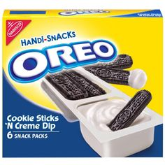 Handi-Snacks Oreo Cookie Sticks 'N Creme - : Target Kosher Recipes, Gourmet Recipes, Snack Recipes, Nabisco Oreo, Cookie Sticks, Junk Food Snacks, Cereal Recipes, Mini Chocolate Chips, Oreo Cookies