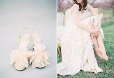 BHLDN dress shoot on film in an orchard | Charleston & Hilton Head Island Wedding Photography