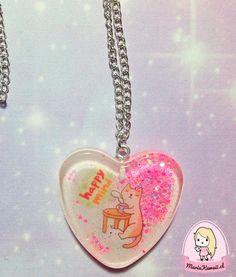 Collar Gato Mente Feliz por mariakawaiistore en Etsy #kitty #cat #necklace #kawaii #harajuku #catlover