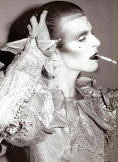 """It's the magical David Bowie and """"Ashes to ashes""""."""