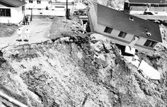 May 4, 1971  Floods in Saint-Jean-Vianney in the Saguenay-Lac-St-Jean region of Québec caused mudslides: 41 residences disappeared and 31 people died.