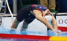 Olivia Smoliga of United States competes during the heats of the Women's 400m Freestyle on Day 2 of the Rio 2016 Olympic Games at Olympic Aquatics Stadium on August 7, 2016 in Rio de Janeiro, Brazil.