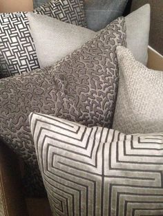 home owners are loving taupe/ silver accents to brighten up their homes. home owners are loving taupe/ silver accents to brighten up their homes. This shade coordinates with chocolate. Rideaux Design, Living Room Decor, Bedroom Decor, Taupe Living Room, Scatter Cushions, Soft Furnishings, Home Textile, Home Accessories, Living Room Accessories