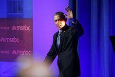 U.S. President Obama arrives for  MSNBC/Telemundo town hall discussion on immigration at Florida International University in Miami