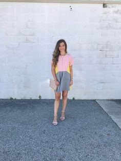 Color Block Dress & My Experience with Shein