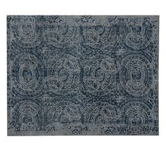 Bosworth Printed Rug #potterybarn