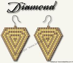 diamond, en peyote o comanche