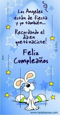 El dia en que nacistes. Feliz cumpleaños
