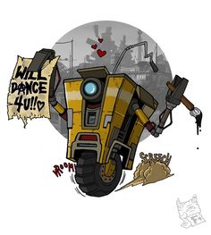 Please do, Clappy! Borderlands Series, Tales From The Borderlands, Handsome Jack, Gamer Humor, Geek Art, Bioshock, Video Game Art, Videogames, Cool Pictures