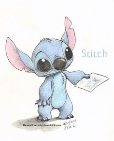for inspiration mickey mouse and friens stitch Lilo And Stitch Drawings, Lilo And Stitch Quotes, Lelo And Stitch, Lilo Et Stitch, Easy Disney Drawings, Cute Drawings, Stitch Disney, Toothless And Stitch, Cute Stitch