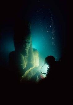 That's right, a sunken city, lost thousands of years ago, was found in the Mediterranean Sea.